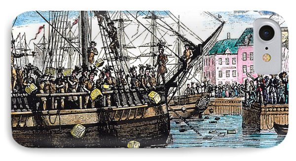 Boston Tea Party, 1773 Phone Case by Granger