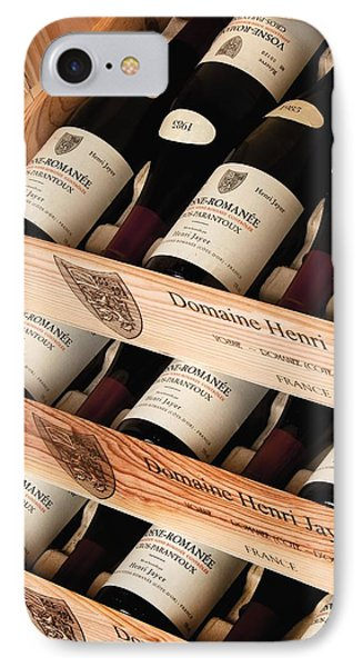 Bottles Of Vosne-romanee Premier Cru Cros Parantoux IPhone Case by Anonymous