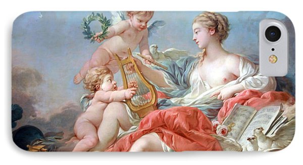 Boucher's Allegory Of Music IPhone Case