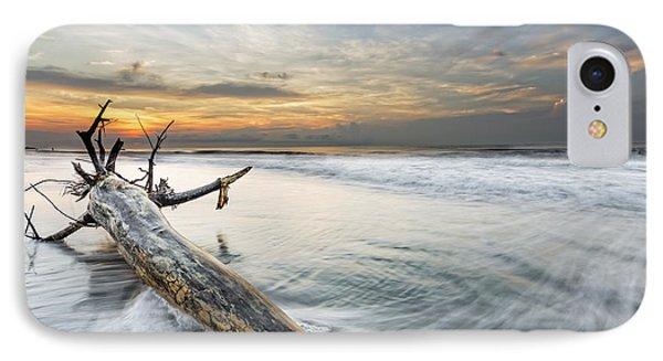 Bough In Ocean IPhone Case by Peter Lakomy