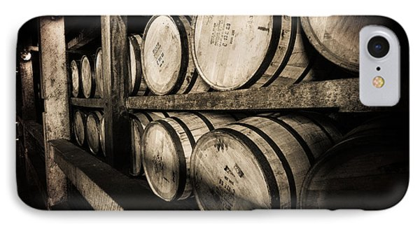 Bourbon Barrels IPhone Case by Karen Varnas