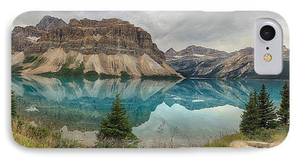 Bow Lake Banff National Park IPhone Case