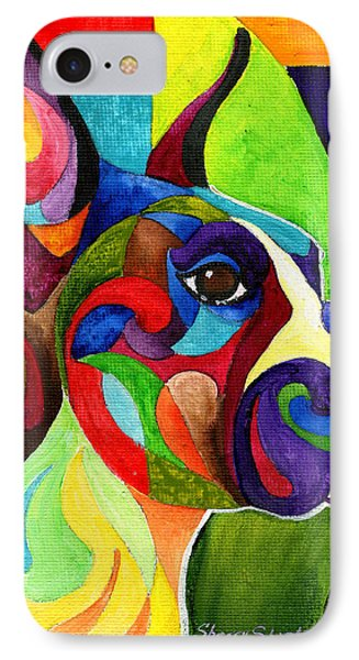 Boxer IPhone Case by Sherry Shipley