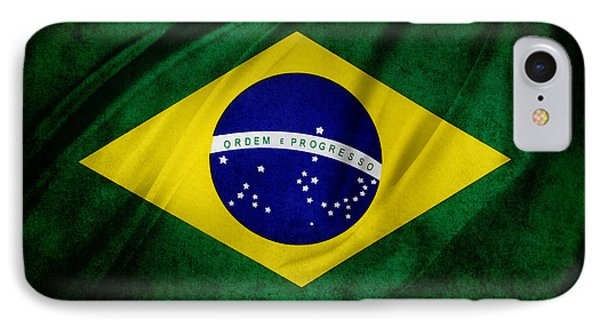 Brazilian Flag IPhone Case by Les Cunliffe