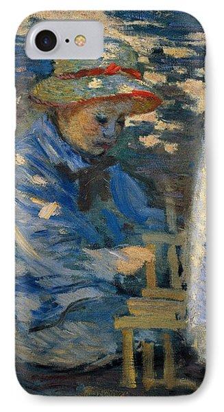 Breakfast In The Garden Phone Case by Claude Monet