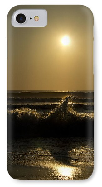 Breaking Waves IPhone Case by Skip Tribby