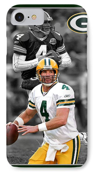 Brett Favre Packers Phone Case by Joe Hamilton