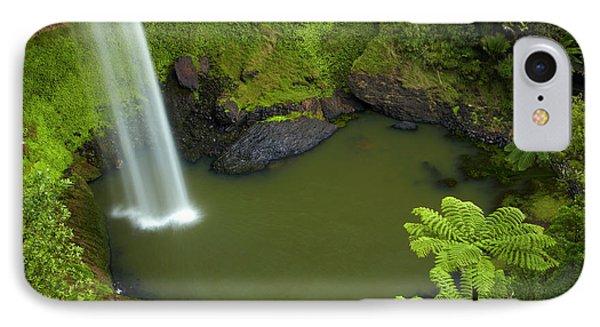 Bridal Veil Falls, Near Raglan IPhone Case by David Wall