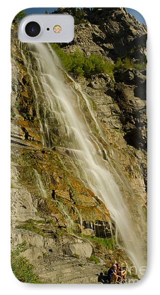 Bridal Veil Falls IPhone Case by Nick  Boren