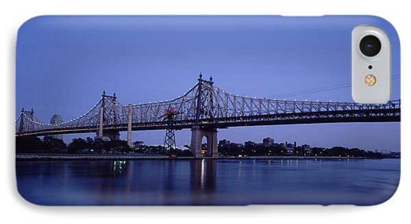 Bridge Across A River, Queensboro IPhone Case by Panoramic Images