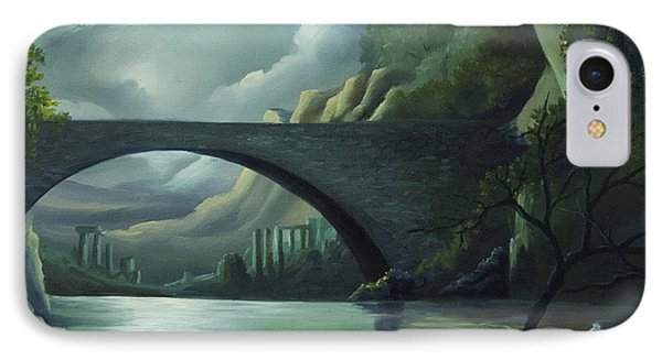 Bridge To Nowhere IPhone Case by James Christopher Hill