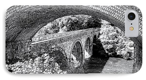 Bridge Under A Bridge IPhone Case by Jane Rix