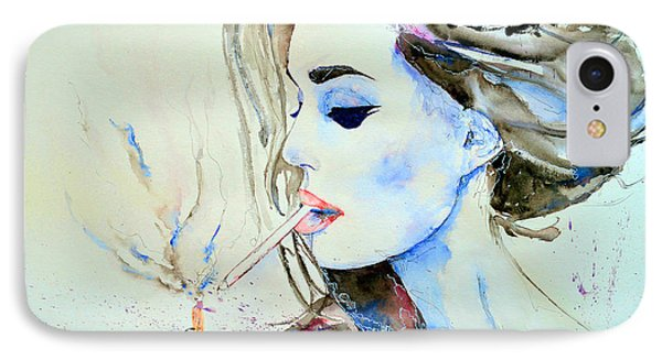 Brigitte Bardot Phone Case by Ismeta Gruenwald