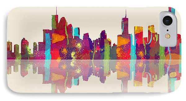 Brisbane Australia Skyline IPhone Case