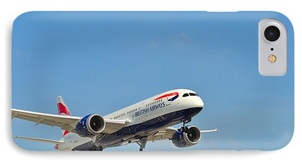 IPhone Case featuring the photograph British Airways by Puzzles Shum