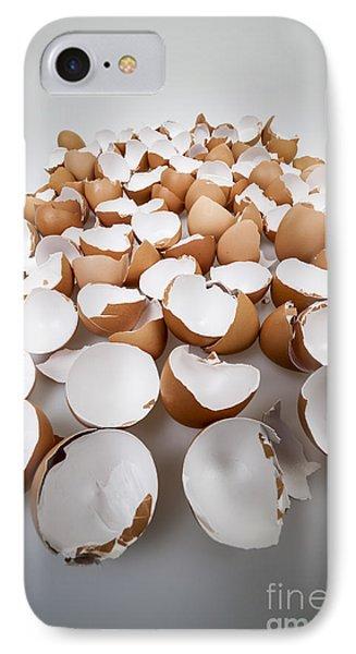 Broken Eggshells IPhone Case