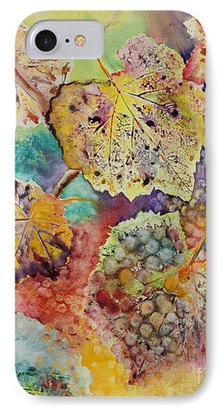 IPhone Case featuring the painting Broken Leaf by Karen Fleschler