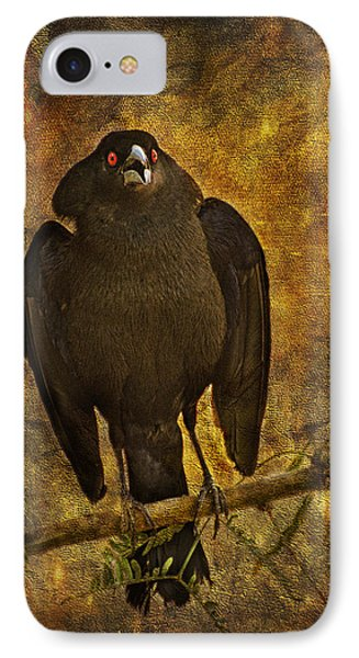 Bronzed Cowbird IPhone Case