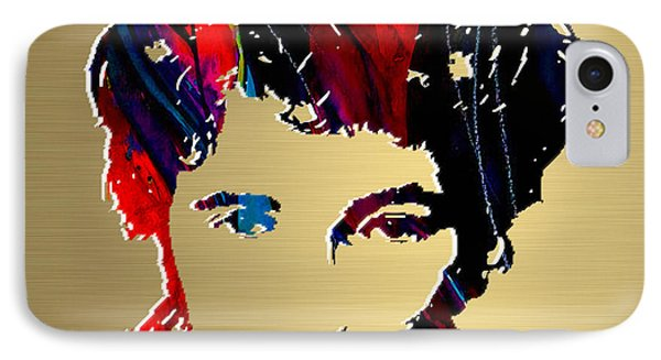 Bruce Springsteen Gold Series IPhone Case by Marvin Blaine