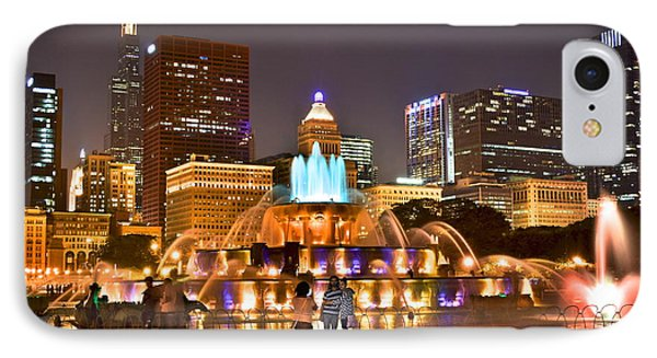 Buckingham Fountain IPhone Case by Frozen in Time Fine Art Photography