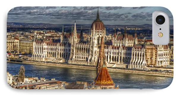 Buda Parliament  IPhone Case by Nathan Wright