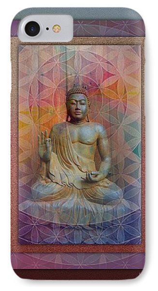 Buddha IPhone Case by Richard Laeton