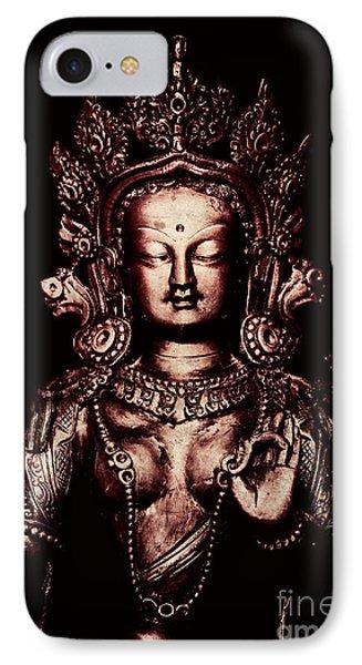 Buddhist Tara Deity Phone Case by Tim Gainey