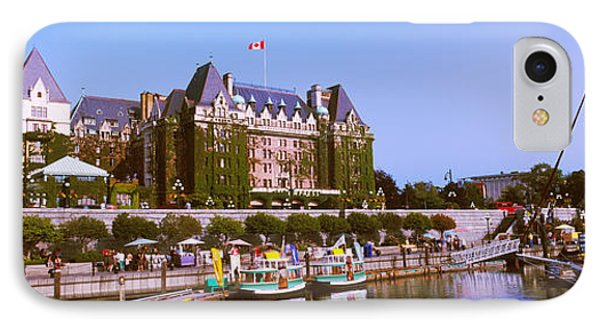 Buildings At The Waterfront, Empress IPhone Case by Panoramic Images