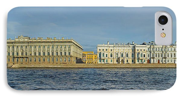 Buildings At The Waterfront, Winter IPhone Case by Panoramic Images