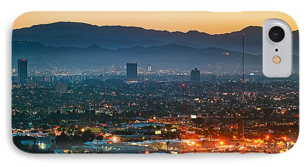 Buildings In A City, Miracle Mile IPhone Case