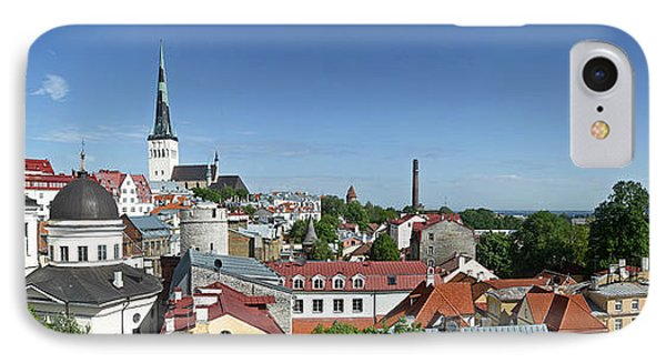 Buildings In A City, St Olafs Church IPhone Case by Panoramic Images