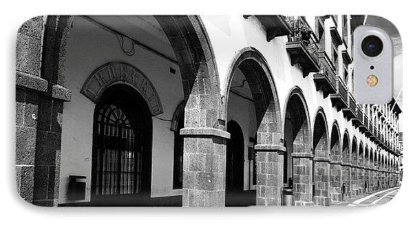 Buildings In Ponta Delgada Phone Case by Gaspar Avila