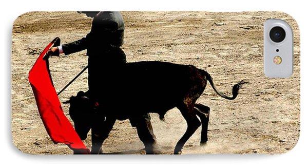 Bullfighter In Training IPhone Case