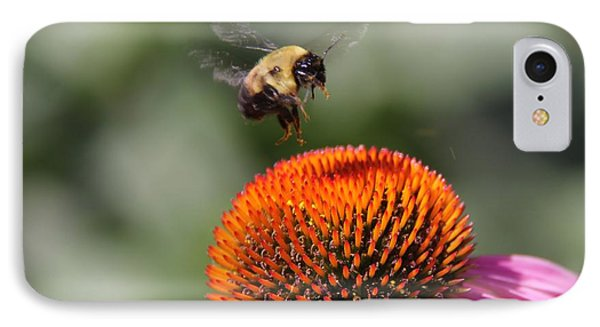 IPhone Case featuring the photograph Bumblebee   by Yumi Johnson