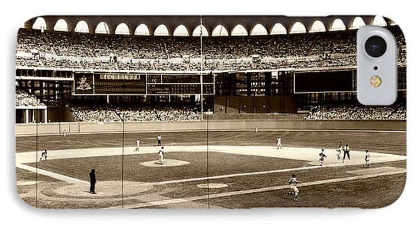 Busch Stadium - St Louis 1966 IPhone Case