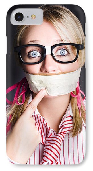 Business Person Marketing Self On Face Value IPhone Case by Jorgo Photography - Wall Art Gallery