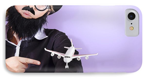 Businessman Travelling Business Class IPhone Case by Jorgo Photography - Wall Art Gallery