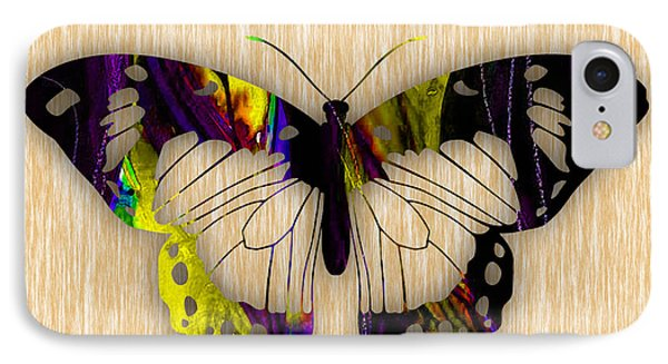 Butterfly Painting IPhone Case by Marvin Blaine