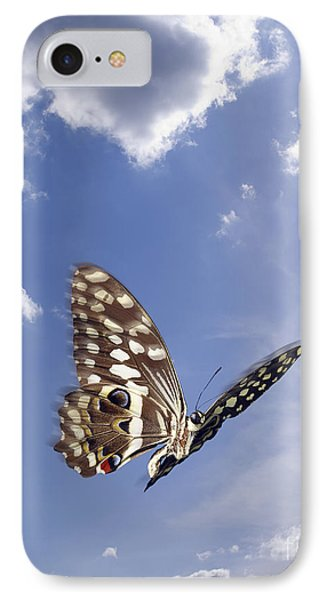 Butterfly Phone Case by Tony Cordoza