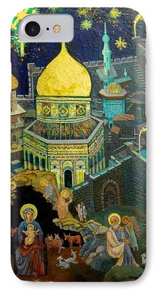 C03  The Nativity  Jerusalem IPhone Case
