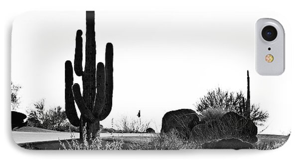 Cactus Golf Phone Case by Scott Pellegrin