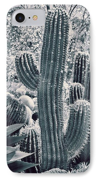 Cactus Land Phone Case by Kelley King