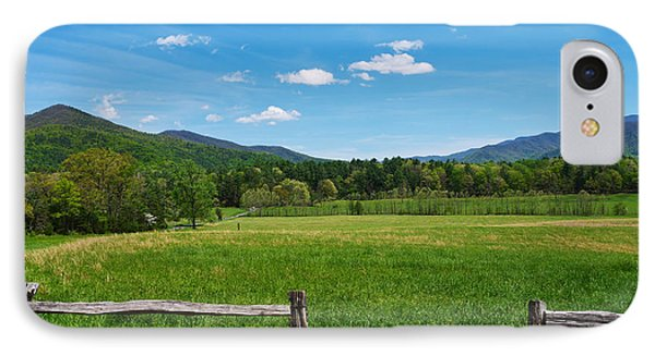 Cades Cove IPhone Case by Melinda Fawver