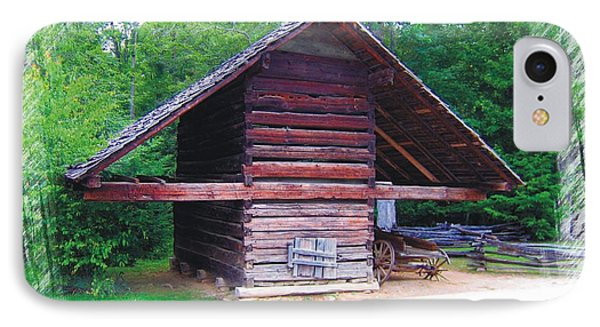 Cades Cove Outbuilding IPhone Case