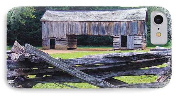 Cades Cove Split Rail And Outbuilding IPhone Case