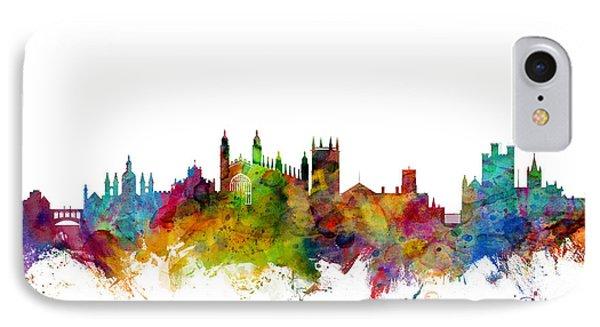 Cambridge England Skyline IPhone Case