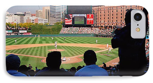 Camden Yards Baseball Game Baltimore IPhone Case by Panoramic Images
