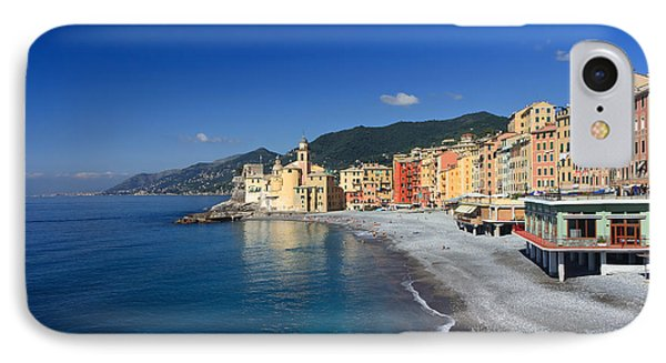 IPhone Case featuring the photograph Camogli - Italy by Antonio Scarpi