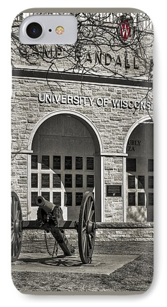 Camp Randall - Madison IPhone Case by Steven Ralser