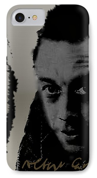 Camus IPhone Case by Asok Mukhopadhyay
